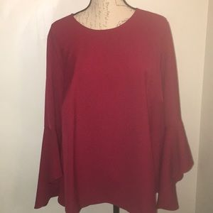 Stylish Bell Sleeved Blouse Size 16